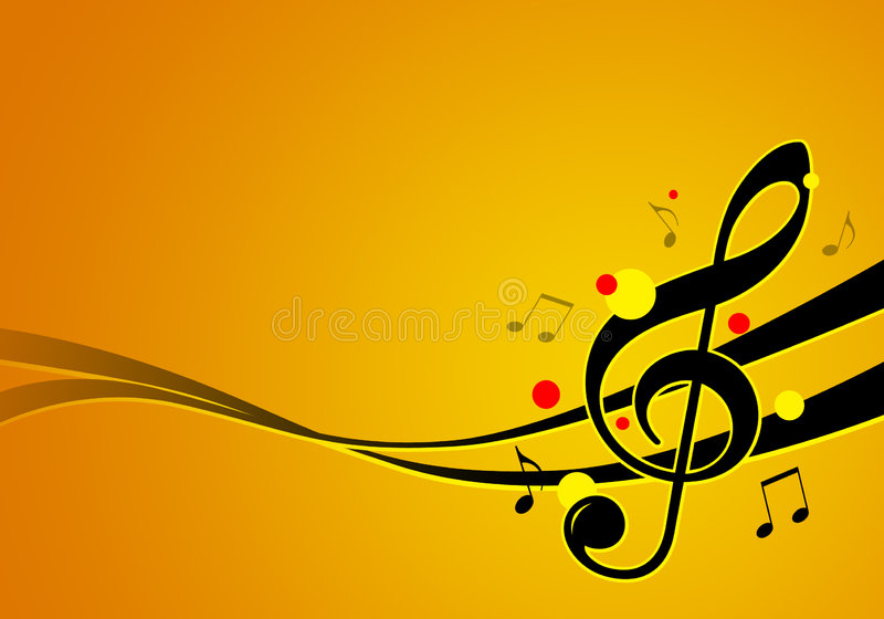 Illustration de festival de musique illustration stock