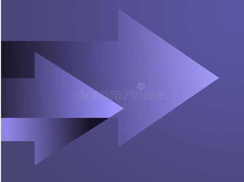 Illustration de flèches illustration stock