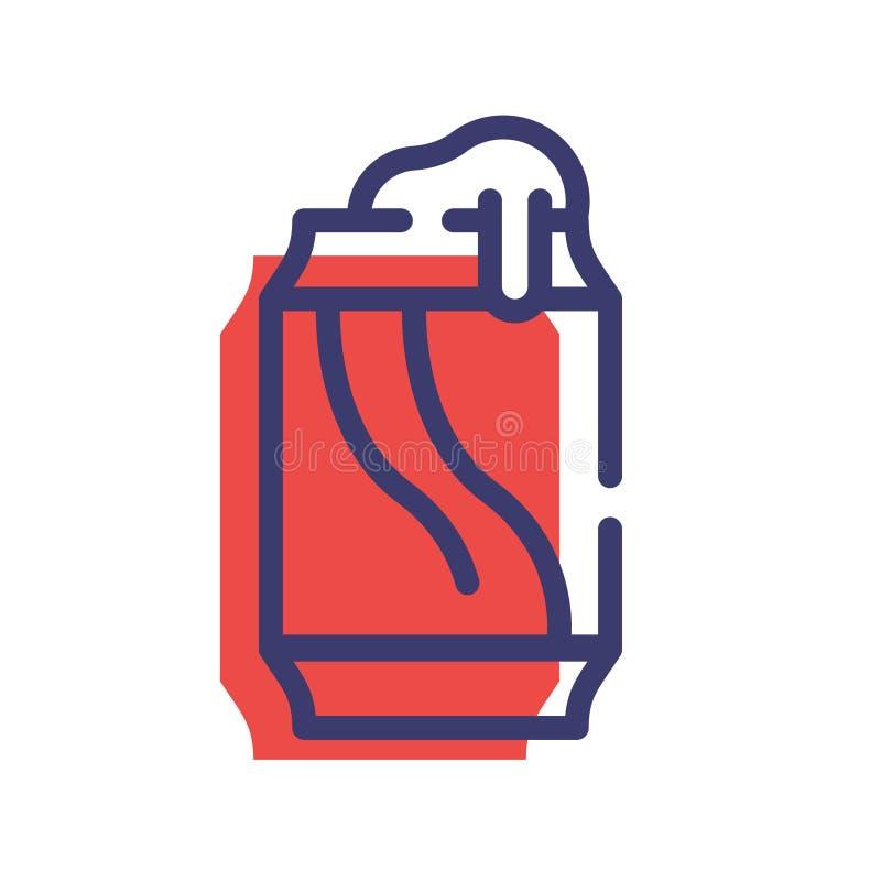 Illustration de FlatOutline de kola illustration libre de droits