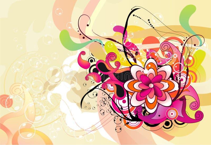 Illustration de fleur illustration de vecteur