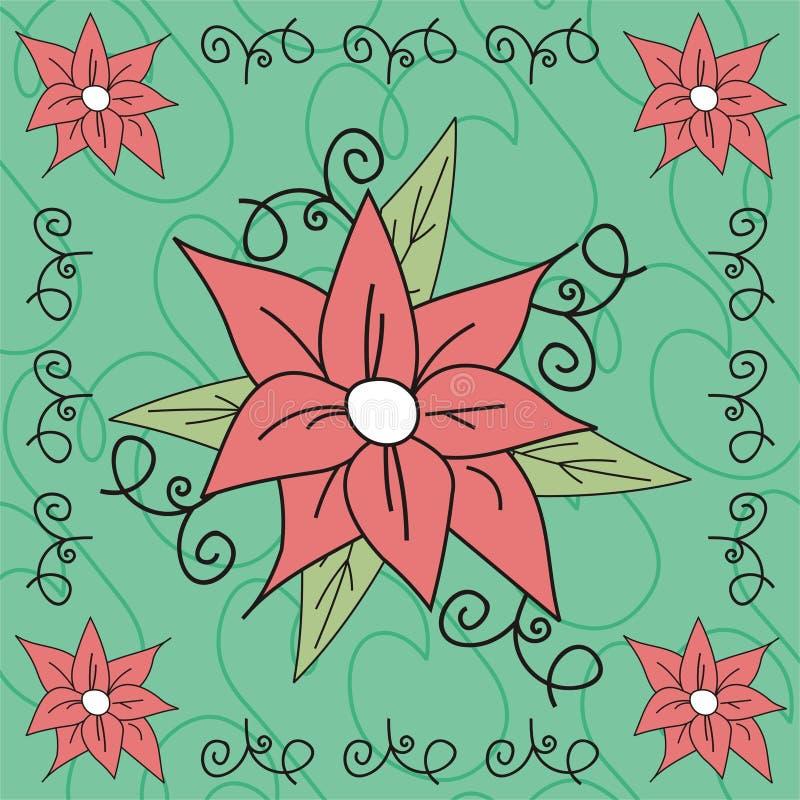 Illustration de fleur illustration stock