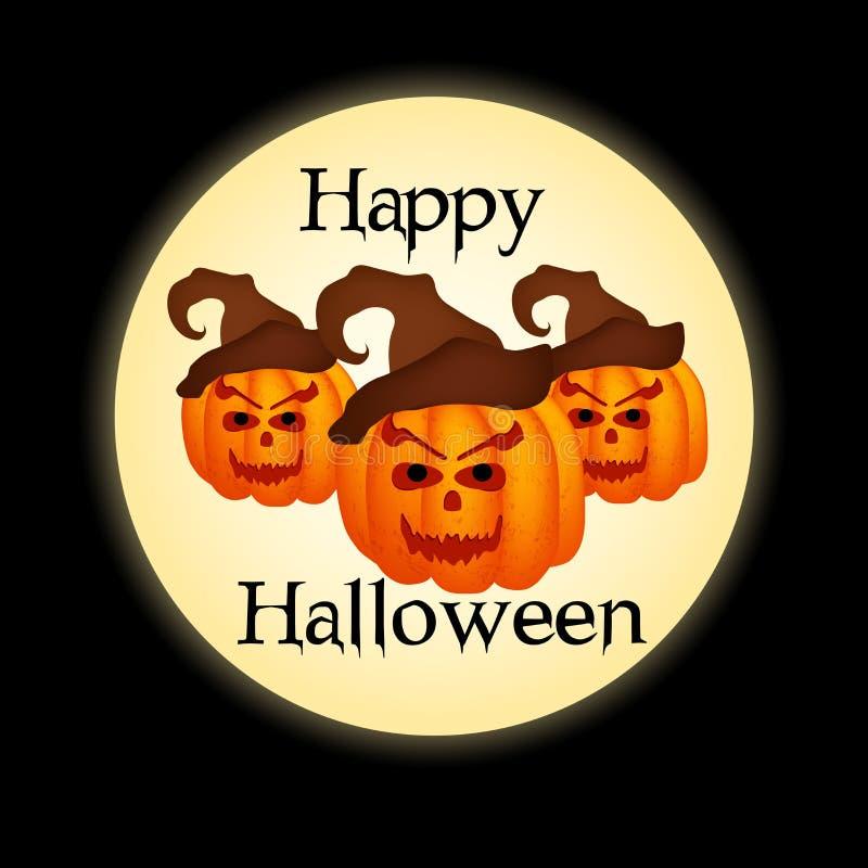 Illustration de fond de Halloween illustration libre de droits