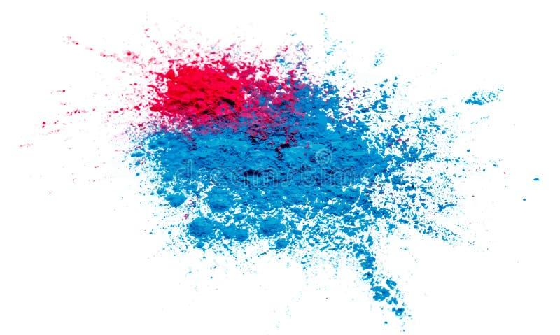 Illustration de fond heureux coloré de Holi de résumé pour le festival de couleur de la célébration de l'Inde photographie stock