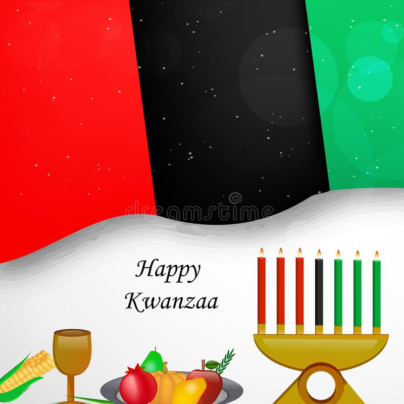 Illustration de fond de Kwanzaa illustration stock