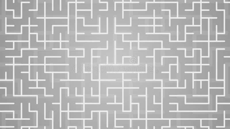 Illustration de fond de labyrinthe illustration de vecteur