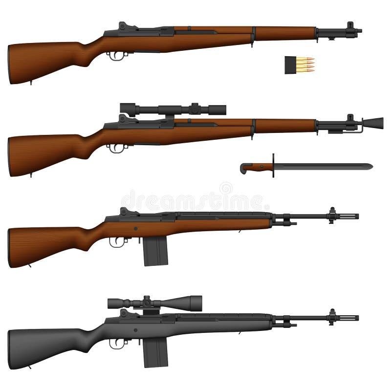 Fusil illustration stock