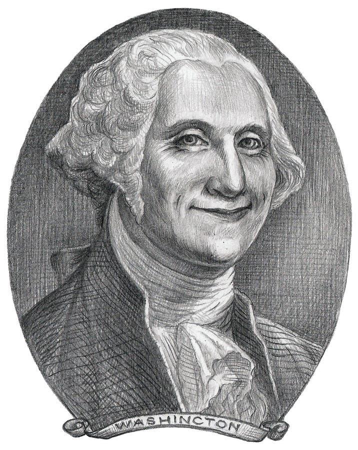 Illustration de George Washington illustration stock