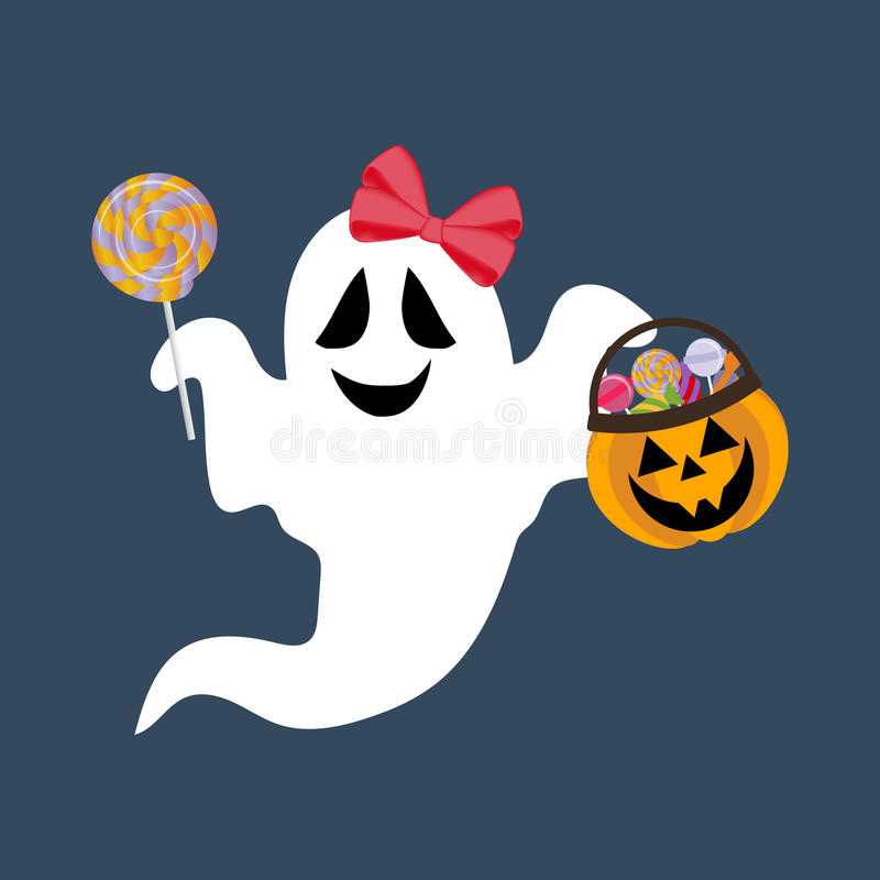 Illustration de Ghost Halloween illustration stock