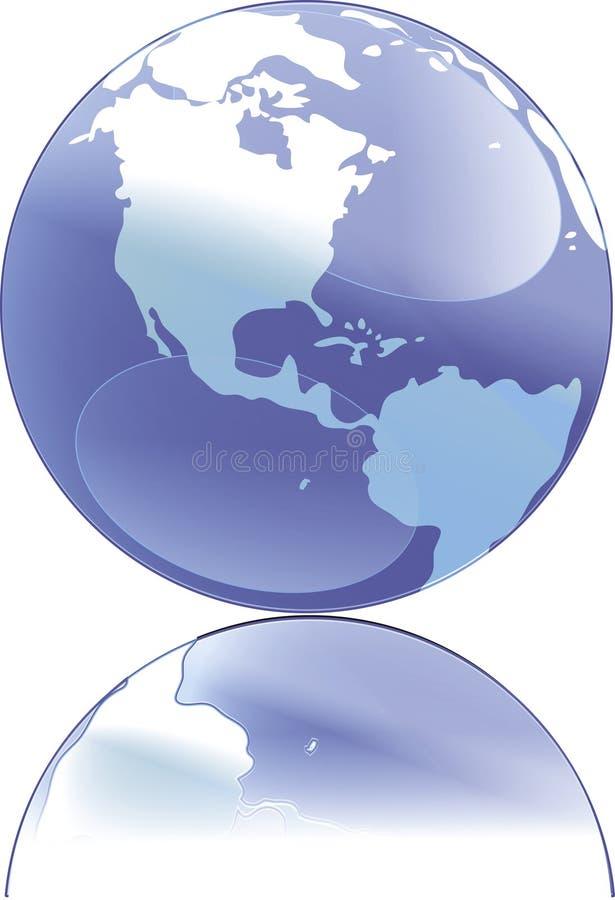 illustration de globe illustration stock