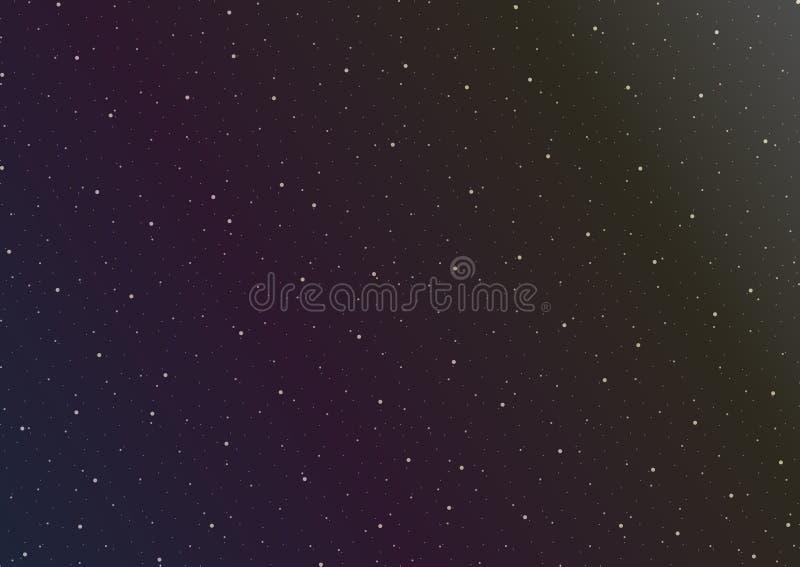 Illustration de graphiques de vecteur d'espace extra-atmosphérique photo libre de droits