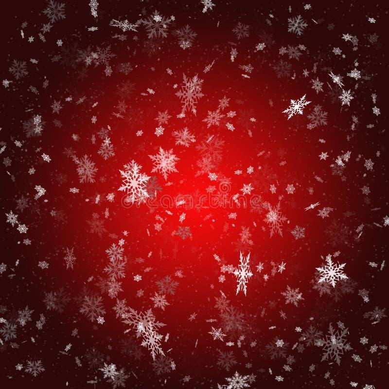 Illustration de haut-recherche de Noël illustration stock