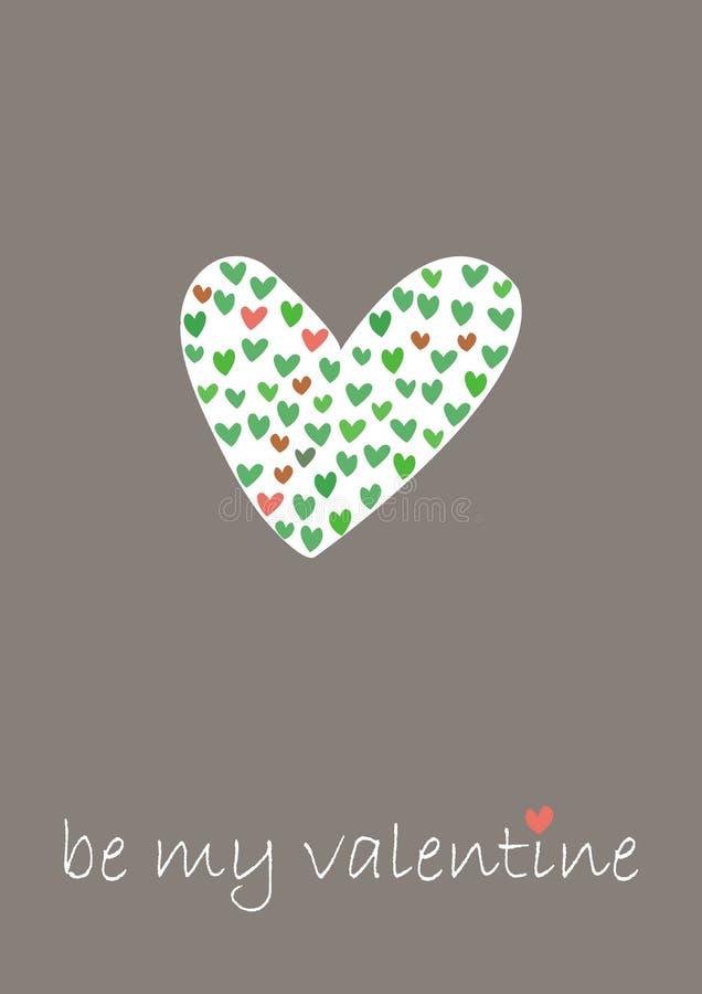 Illustration de jour de Valentines illustration de vecteur