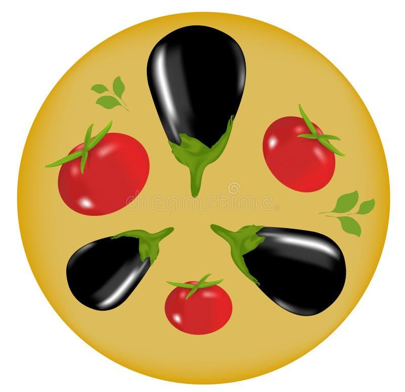 Illustration de légumes illustration de vecteur
