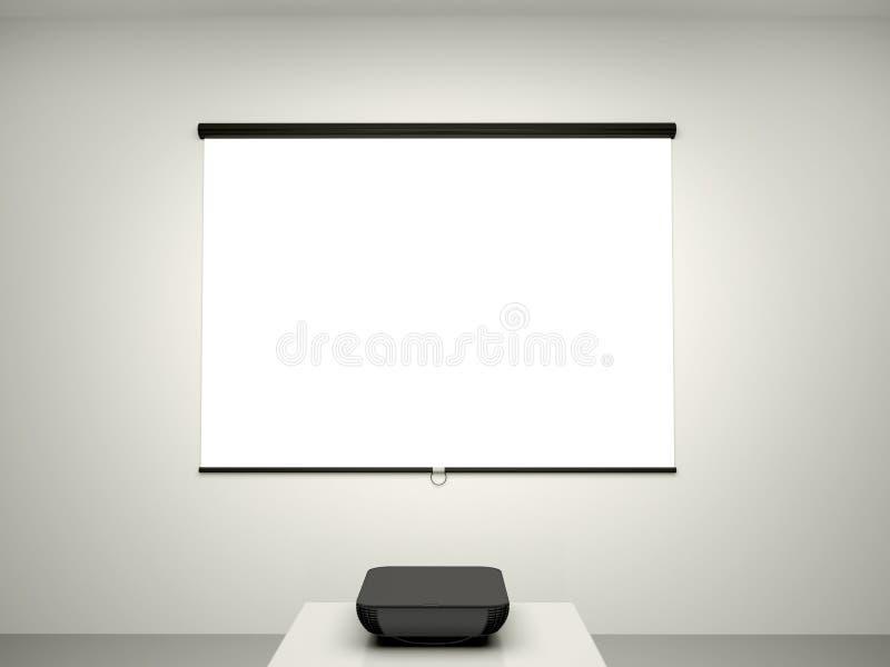 Download Illustration De L'écran De Présentation Et D'un Projecteur Pour C Illustration Stock - Illustration du digitalement, hall: 56480074