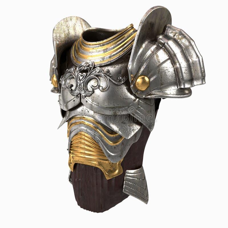 Illustration de l'armure 3d illustration de vecteur