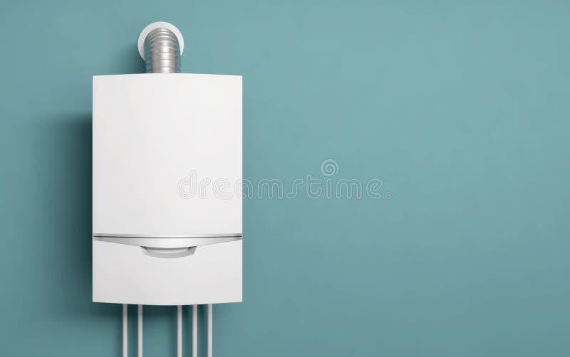 Illustration de l'eau 3D d'appareil de chauffage de gaz de chaudière illustration libre de droits