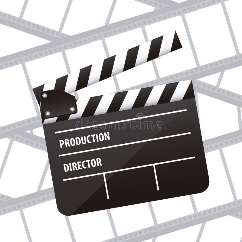 Icône de cinématographie illustration stock
