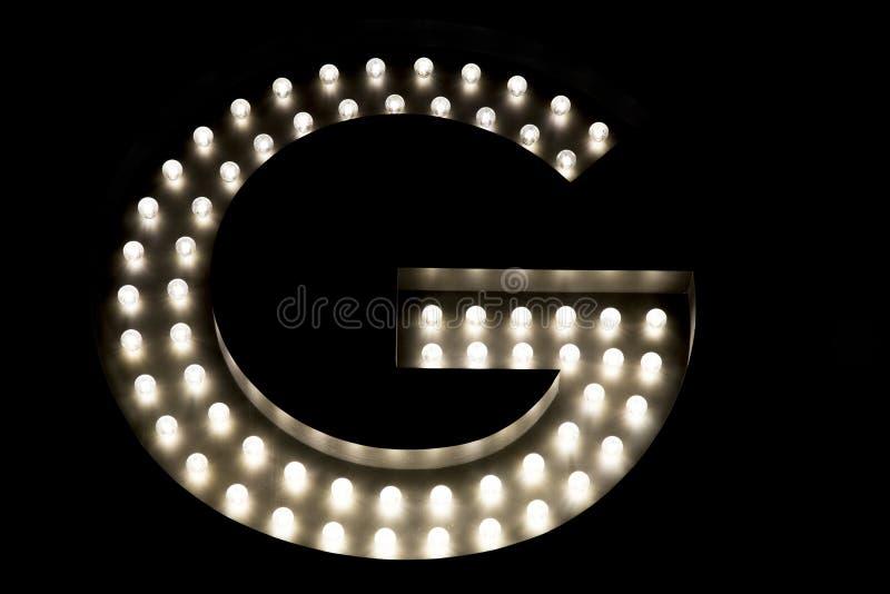 Illustration de la lettre G photo stock