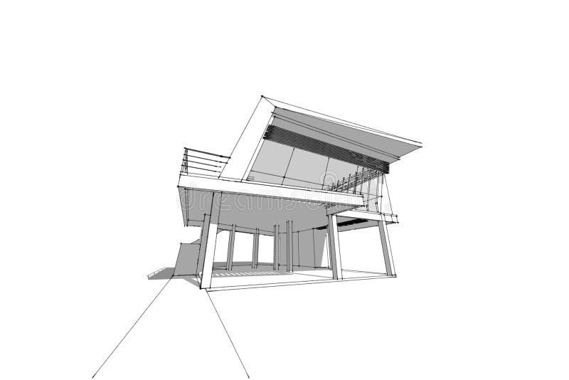 top elegant download de la maison d de dessin stock image with maison dessin architecte with. Black Bedroom Furniture Sets. Home Design Ideas