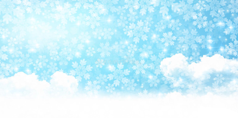 Illustration de la saison d'hiver image libre de droits