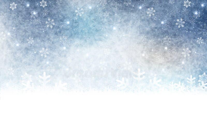 Illustration de la saison d'hiver images libres de droits