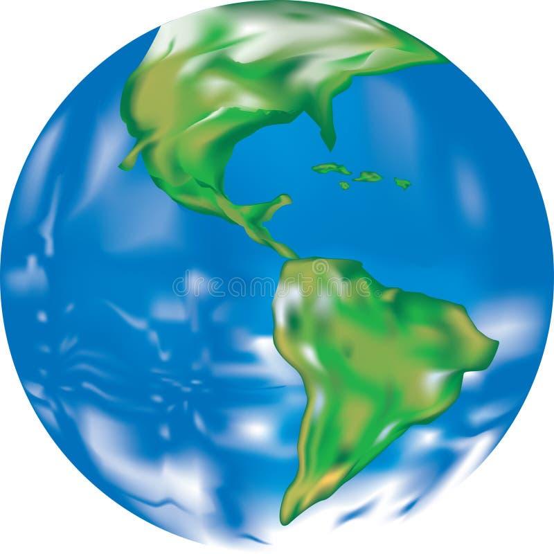 Illustration de la terre illustration stock