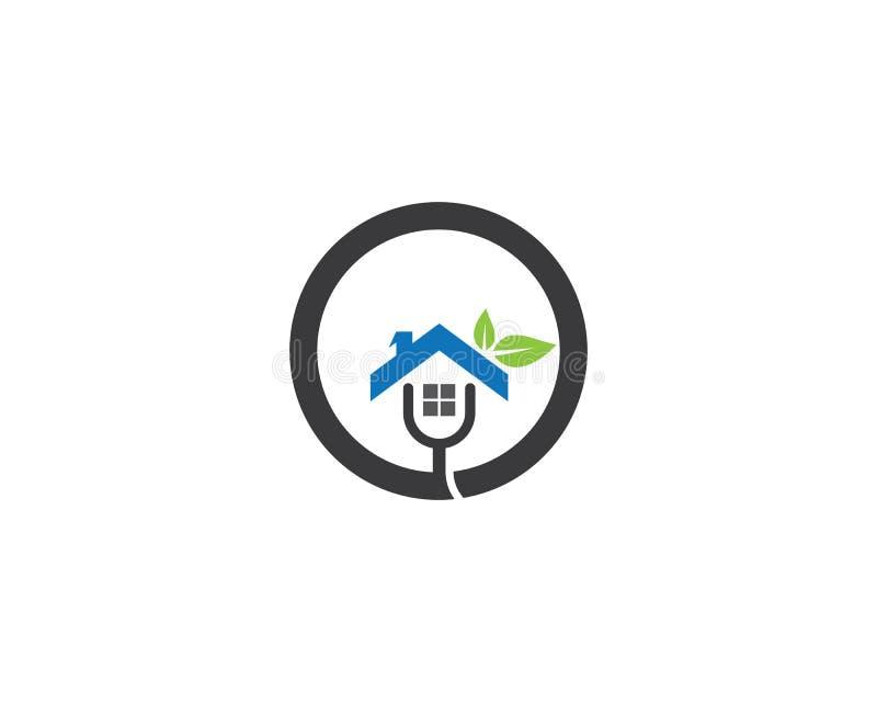 Illustration de logo de Chambre illustration libre de droits