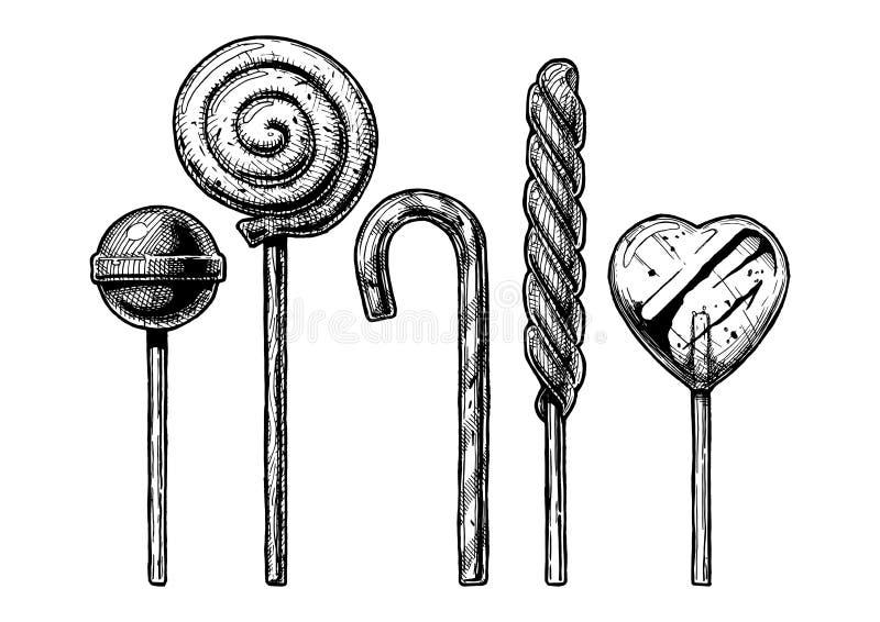 Illustration de lucette illustration stock