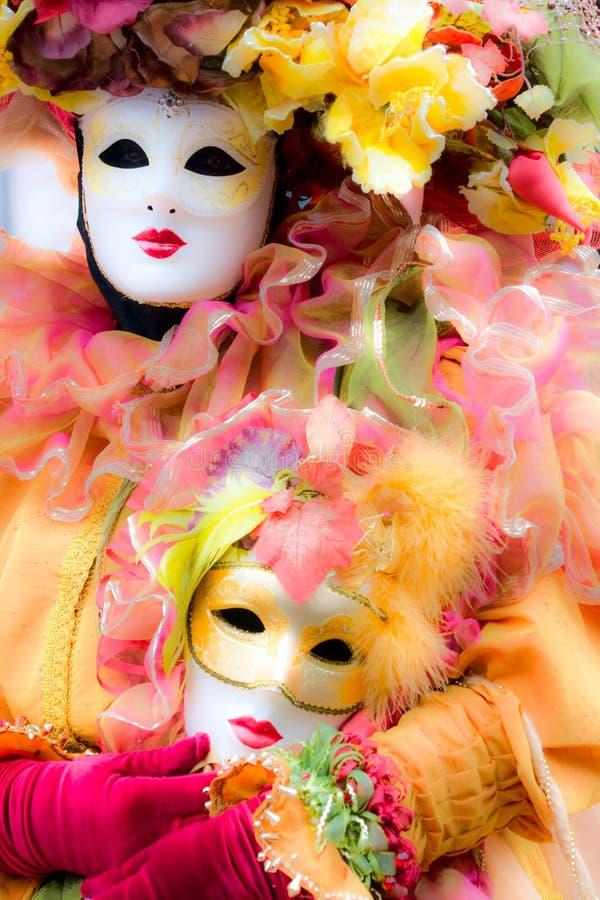 illustration de masque d'orientation de carnaval doucement vénitienne images stock