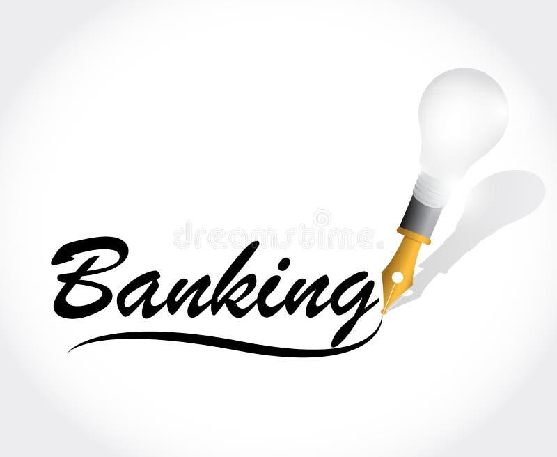 Download Illustration De Message De Signe D'opérations Bancaires Illustration Stock - Illustration du investissez, location: 45358340