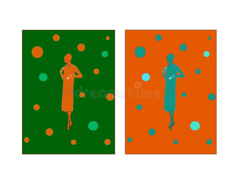 Illustration de mode d'automne photos stock