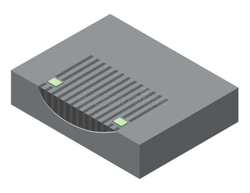 Illustration de modem câblé illustration stock