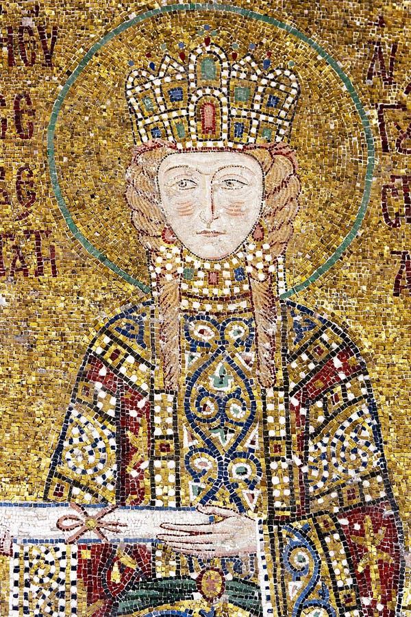 Illustration de mosaïque dans Hagia Sophia photo stock