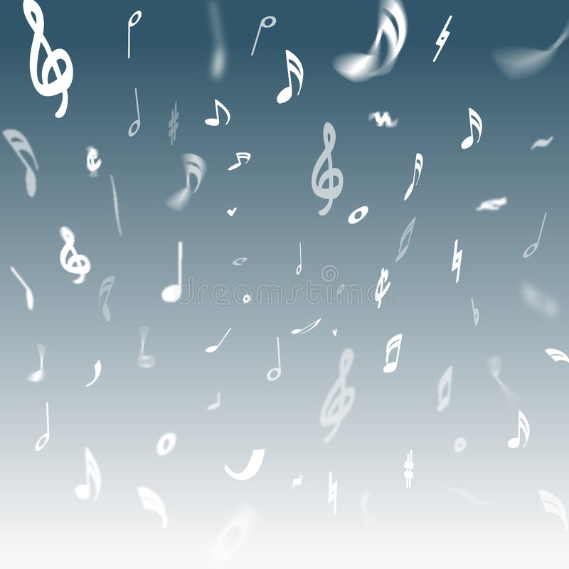 Illustration de musique illustration de vecteur