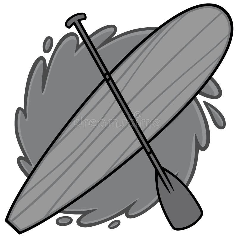 Illustration de panneau de palette illustration de vecteur