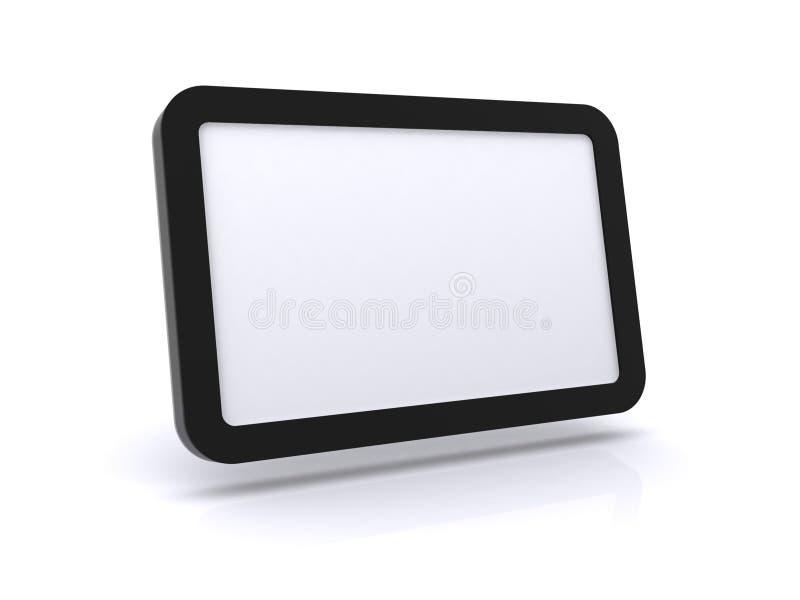 Illustration de PC de tablette photographie stock libre de droits