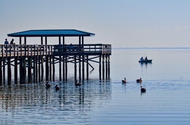Illustration de pilier de pêche photo stock