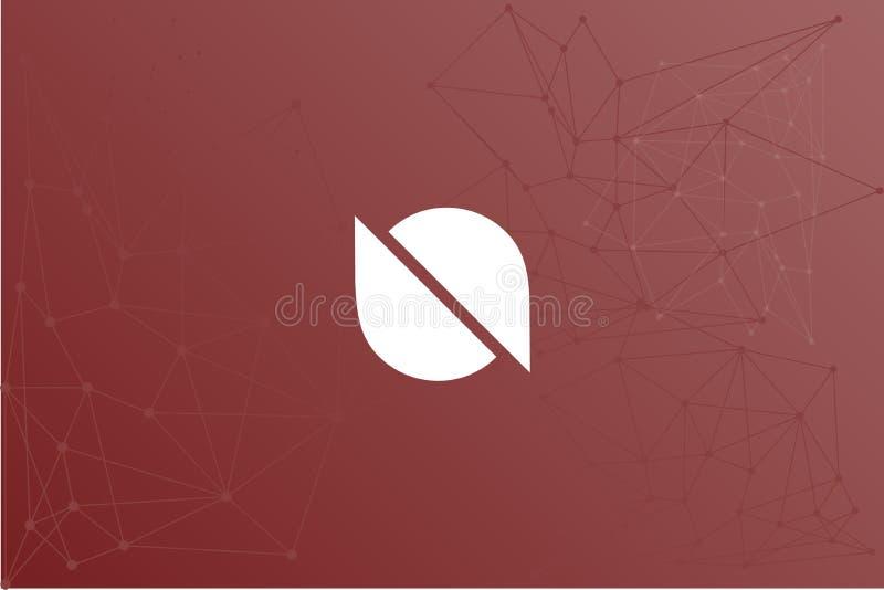 Illustration de réseau de logo de l'Ontology Ontario illustration stock