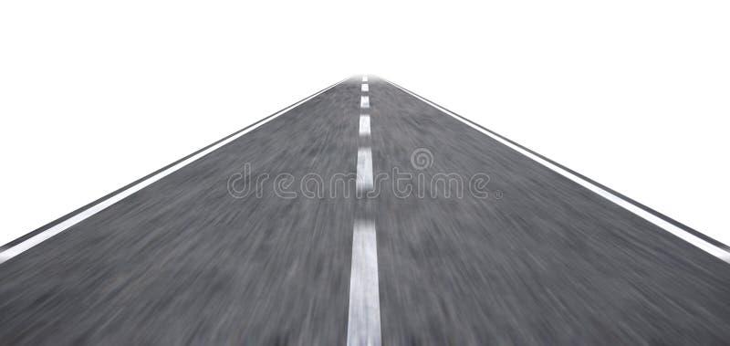 Illustration de route illustration libre de droits