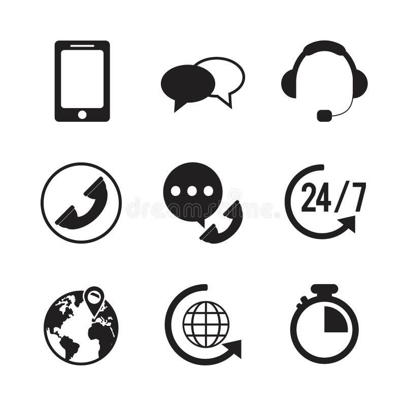 Illustration de service client illustration stock