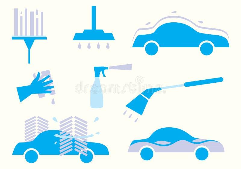 Illustration de station de lavage illustration stock