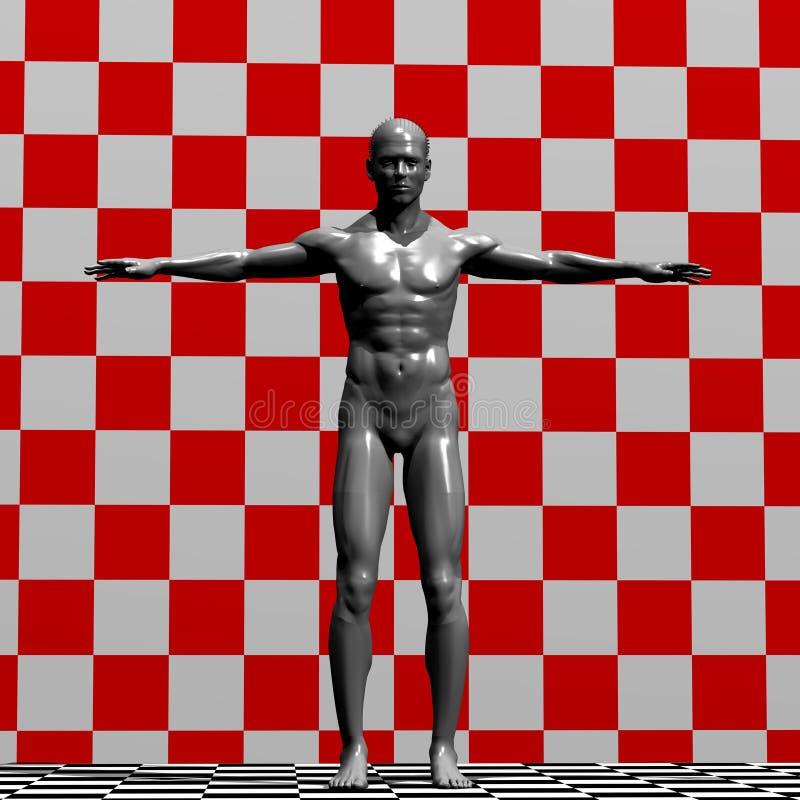 Illustration de statue illustration libre de droits