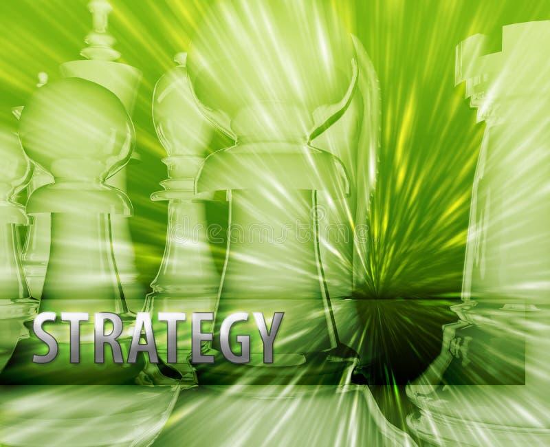 Illustration de stratégie commerciale illustration libre de droits