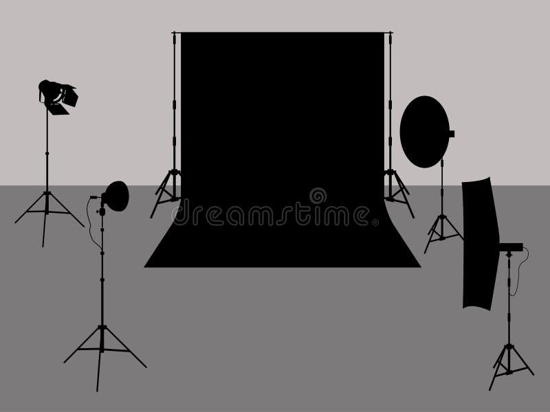 Illustration de studio de photo illustration stock