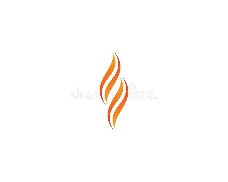 Illustration de symbole de feu illustration stock