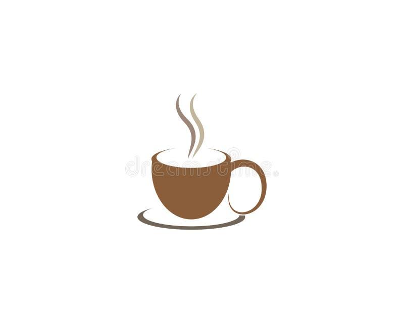 Illustration de symbole de tasse de caf? illustration de vecteur