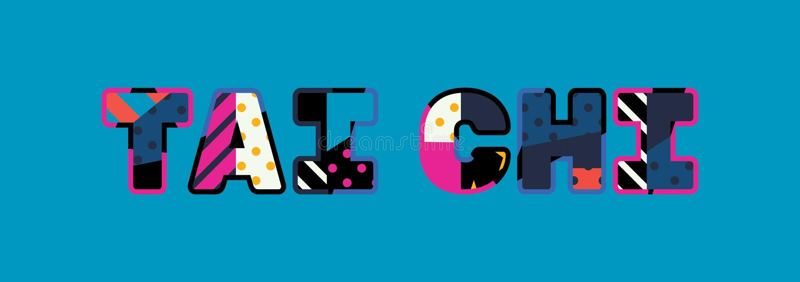 Illustration de Tai Chi Concept Word Art illustration libre de droits