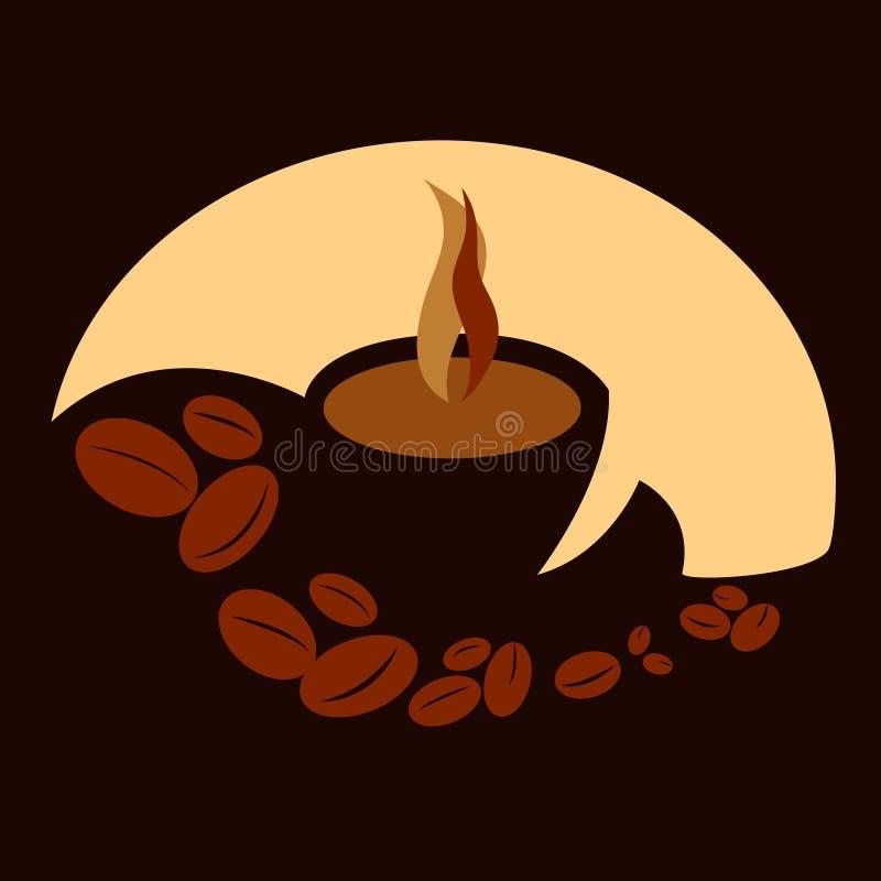Illustration de tasse de café illustration libre de droits