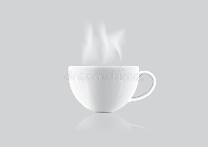 Illustration de tasse de café photos stock
