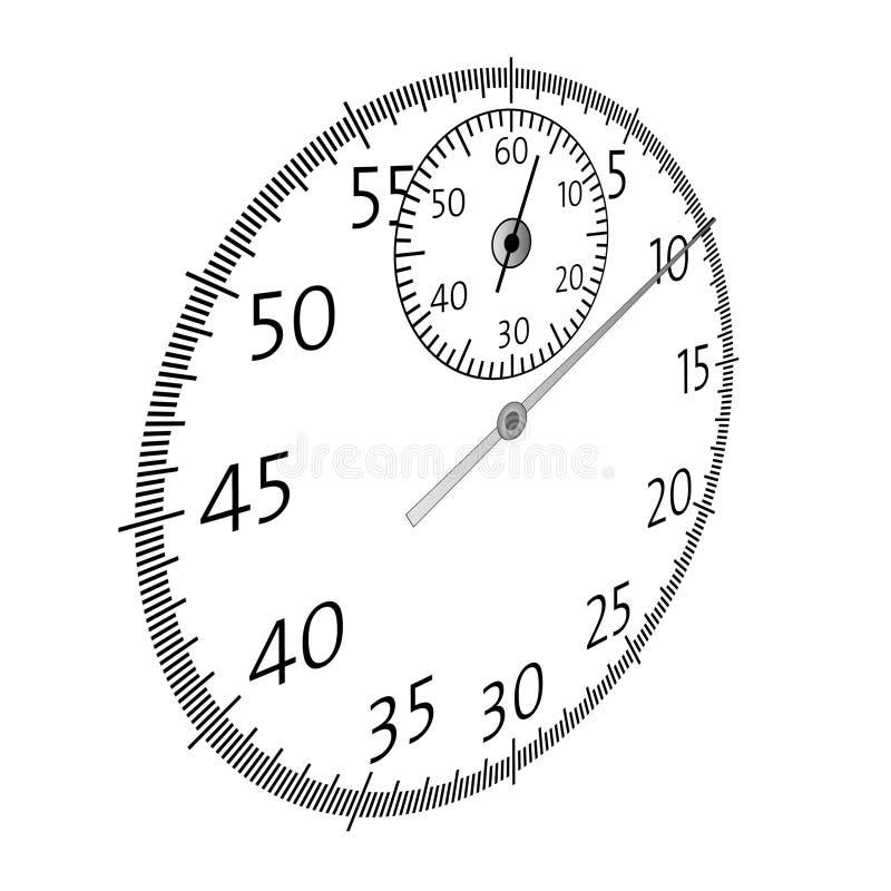 Illustration de temps illustration libre de droits